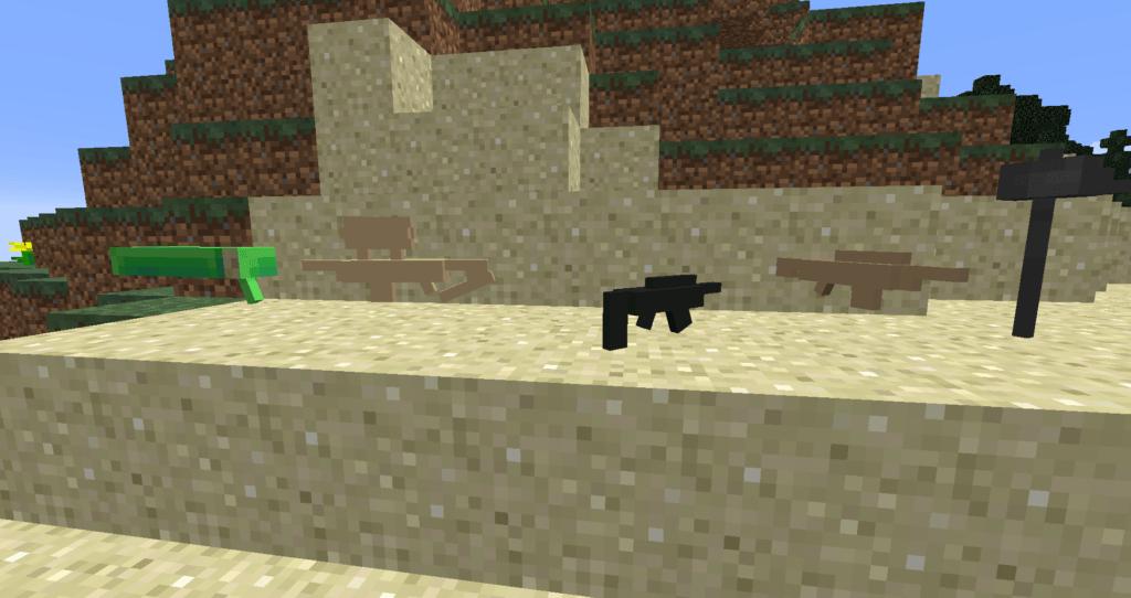 Мод на новое оружие - Fortnite для minecraft 1.12.2