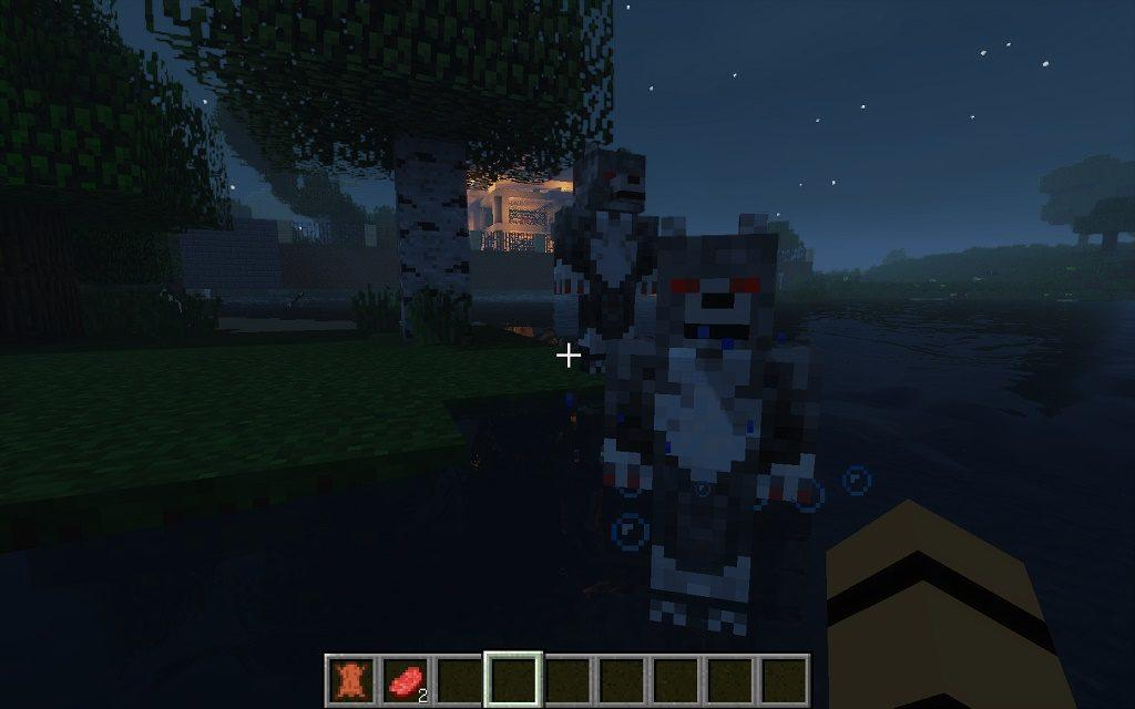 Мод на оборотня - Howling Moon для minecraft 1.12.2 1.11.2 1.10.2 1.9.4 1.8.9 1.8 1.7.10