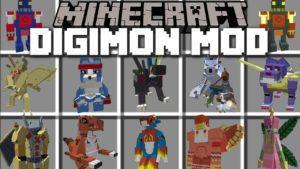 Мод на Дигимобов - Digimobs для minecraft 1.11.2 1.10.2 1.8.9 1.7.10 1.7.2 1.6.4 1.5.2