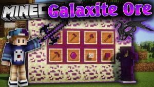 Мод на новую руду - Galaxite Ore для minecraft 1.12.2