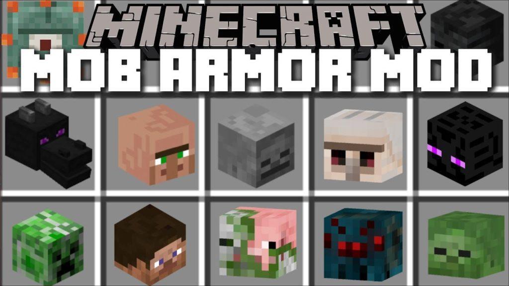 Мод на Броню мобов - Mob Armor 1.16.5, 1.12.2, 1.8.9, 1.7.10