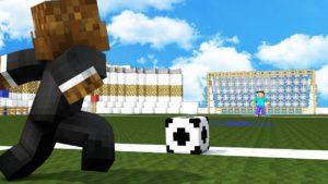 Мод на Футбол - Soccer для minecraft 1.12.2