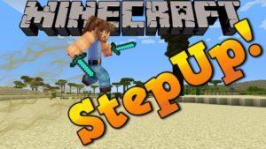 Мод StepUp для minecraft 1.12.2 1.11.2 1.10.2 1.9.4 1.8.9 1.8 1.7.10