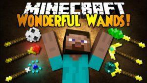 Мод на Волшебные палочки - Wonderful Wands для minecraft 1.11.2 1.10.2 1.9.4 1.8.9 1.8 1.7.10 1.6.4