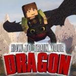 Мод как приручить дракона — How To Train Your dragon для minecraft 1.12.2 1.7.10