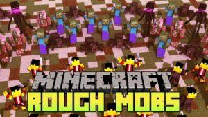 Мод на усиление мобов - Rough Mobs Revamped 1.14.4, 1.12.2