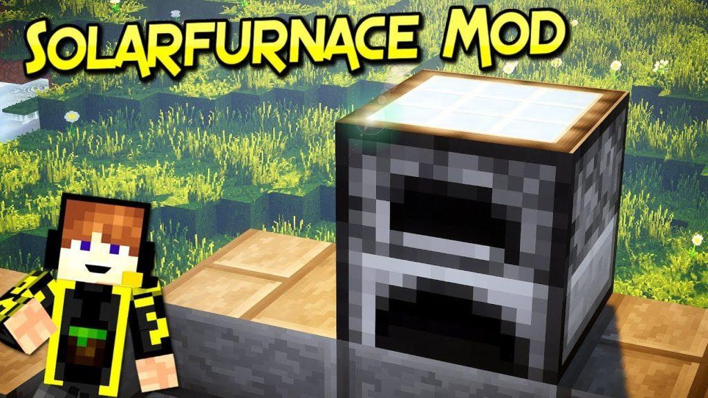 Мод SolarFurnace для minecraft 1.12.2 1.11.2 1.10.2 1.8.9 1.8