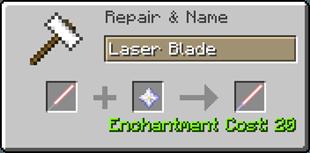 Мод на Световые мечи - ToLaserBlade для minecraft 1.12.2