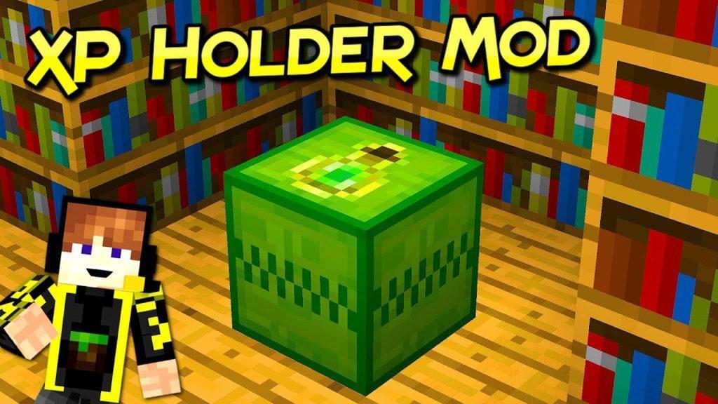 Мод XP Holder для minecraft 1.12.2
