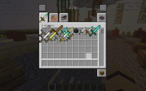 Мод на Большие мечи - G-Weapons для minecraft 1.12.2