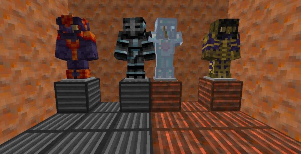 Мод на Магическую броню - Cosmic Armory для minecraft 1.12.2