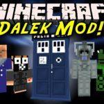 Доктор кто в майнкрафт - Dalek мод для minecraft 1.12.2, 1.7.10
