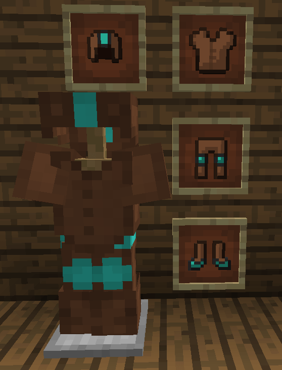 Покрась броню - мод More Dyeable Armors для minecraft 1.12.2