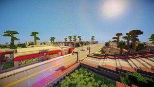 Карта GTA San Andreas для minecraft 1.12.2 1.11.2 1.10.2 1.9.4 1.8.9 1.7.10 1.6.4 1.5.2