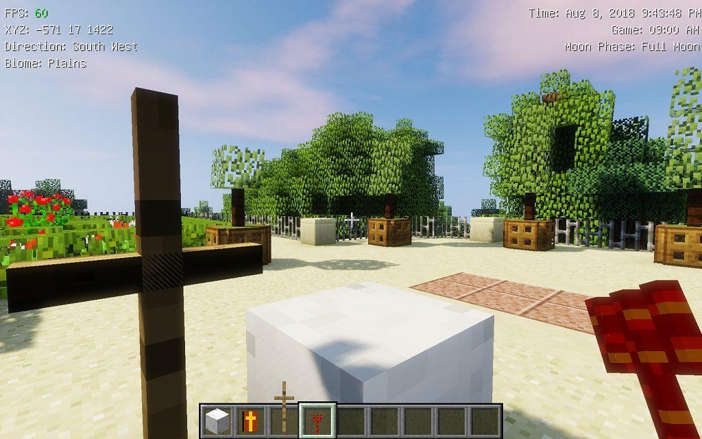 Мод на Иисуса и сатану - The Heaven для minecraft 1.12.2