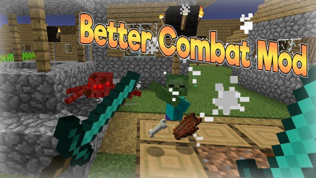 Мод Better Combat Rebirth для minecraft 1.12.2