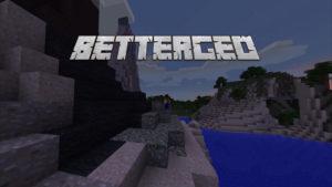Мод BetterGeo для minecraft 1.12.2 1.7.10