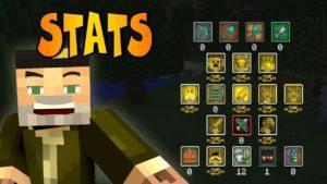 Мод на прокачку стива - Goki Stats для minecraft 1.12.2 1.7.10