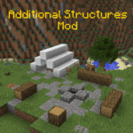 Мод Additional Structures для minecraft 1.12.2