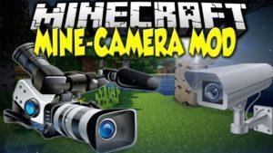 Мод на Камеру - Mine Camera для minecraft 1.12.2 1.10.2