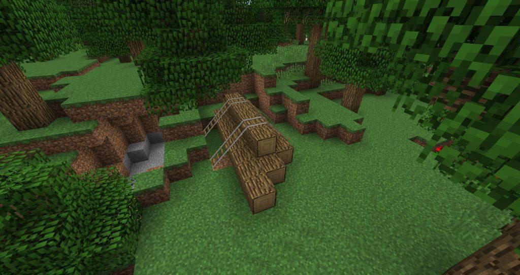Мод Additional Structures для minecraft 1.12.2