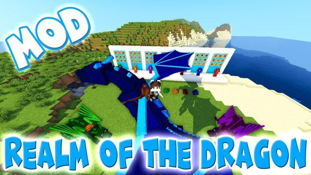 Крутой мод на драконов - Realm of The Dragons для minecraft 1.12.2 1.11.2 1.10.2