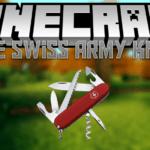 Армейский нож — мод The Swiss Army Knife для minecraft 1.7.10