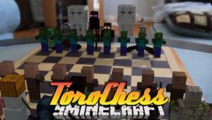 Мод на Шахматы - ToroChess для minecraft 1.12.2 1.11.2