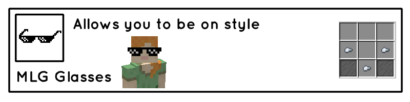 Мод на Очки - Useful Glasses для minecraft 1.12.2