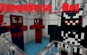 Мод на Венома, Карнажа и Токсина - Venomverse для minecraft 1.6.4