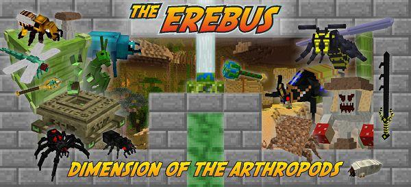 Мод The Erebus 1.12.2, 1.7.10