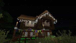 Мод на Гирлянды - Fairy Lights 1.16.5, 1.15.2 1.14.4, 1.12.2, 1.7.10