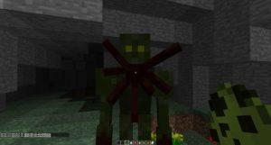 Мод на Кровососа Meshinator's Mobs для minecraft 1.12.2