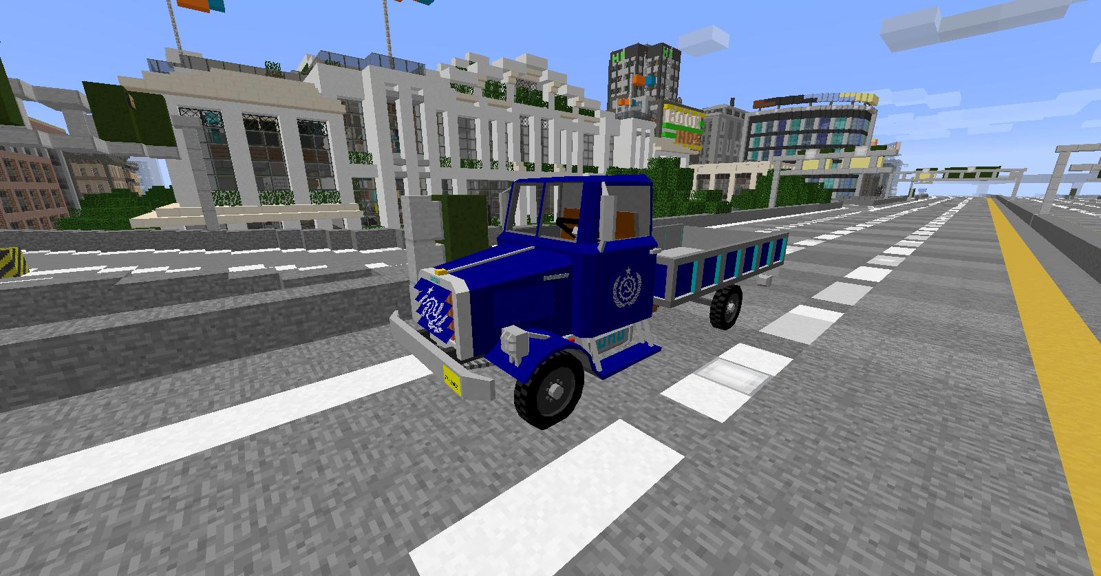 Пак машин BlackThorne Civilian для flan's мода minecraft 1.12.2 1.8 1.7.10