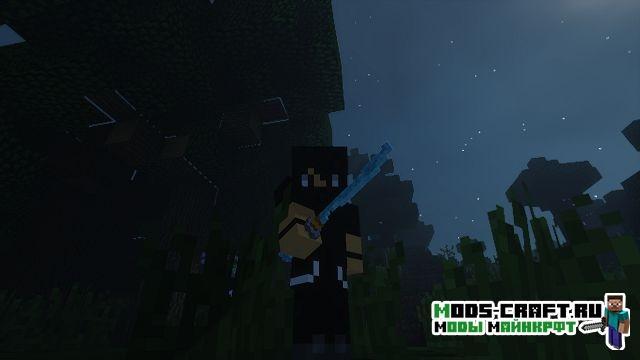 Ресурспак на красивые мечи - 3D Swords для minecraft 1.13 1.12.2 1.11.2 1.10.2 1.9.4