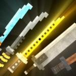Ресурспак на красивые мечи — 3D Swords для minecraft 1.13 1.12.2 1.11.2 1.10.2 1.9.4