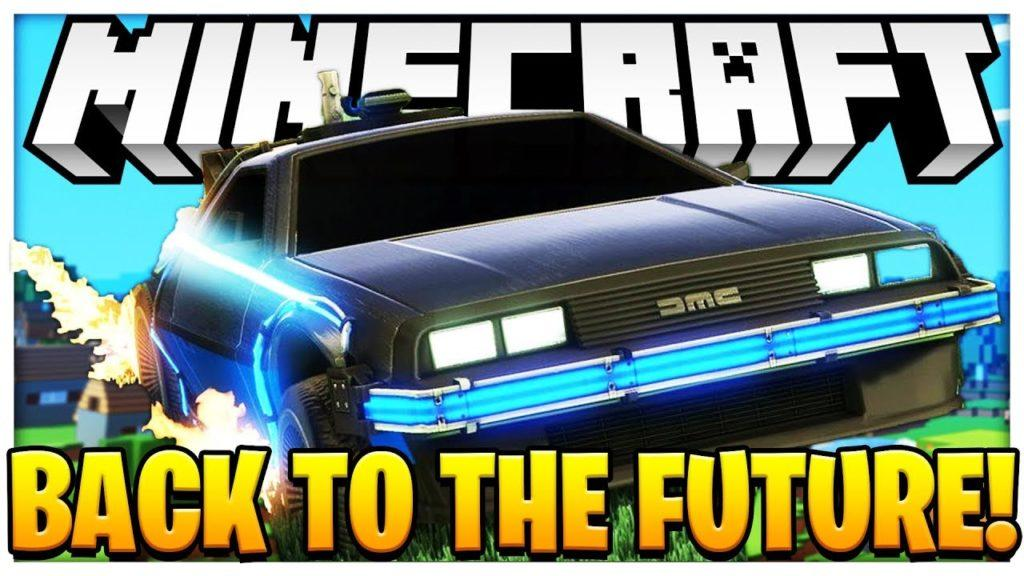 Мод Back to the Future Return для minecraft 1.12.2