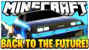 Мод Back to the Future Return для minecraft 1.12.2