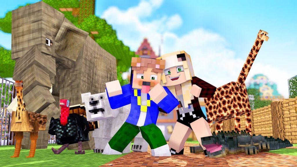 Мод на зоопарк и животных - Zoocraft Discoveries для minecraft 1.12.2 1.7.10