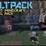VAULTPACK - 3D текстуры из Fallout [16x] для minecraft 1.13.2 1.12.2