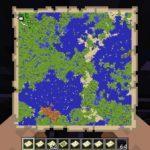 Мод на большую карту — Mega Map для minecraft 1.12.2