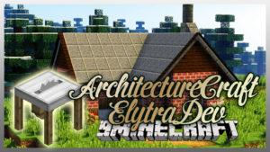 Мод ArchitectureCraft ElytraDev для minecraft 1.12.2