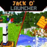 Мод на пушку Джека - Jack O' Launcher для minecraft 1.13.2 1.12.2