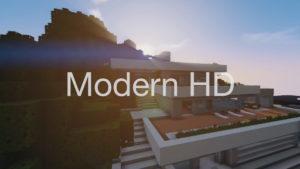 Современные текстуры - Modern HD для minecraft 1.13.1 1.12.2 1.11.2 1.10.2 1.9.4 1.8.9 1.7.10