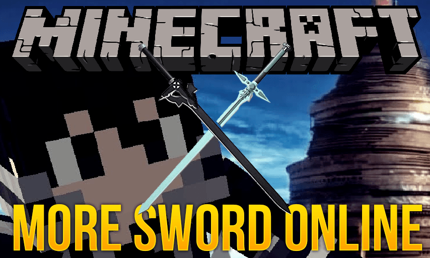 Мод на мечи - MoreSwordOnline для minecraft 1.12.2 1.11.2