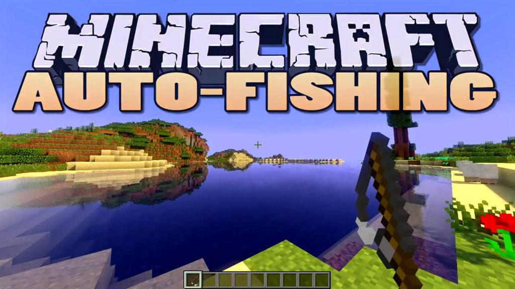 Мод на автоматическую рыбалку - Autofish для minecraft 1.12.2 - 1.5.2