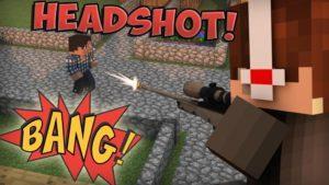 Мод на выстрел в голову - Iblis Headshots для minecraft 1.12.2