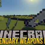 Мод на легендарные мечи — Legendary Weapons для minecraft 1.12.2