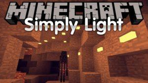 Мод на лампы и светильники - Simply Light для minecraft 1.12.2