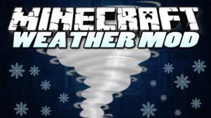 Мод на торнадо и землетрясения - Weather, Storms & Tornadoes для minecraft 1.12.2 1.10.2 1.8.9 1.7.10